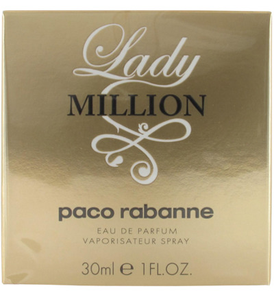 Lady Million Eau de Parfum Natural Spray
