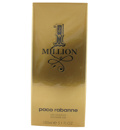 Paco Rabanne One Million Gel Douche Showergel Man 150ml