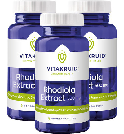 Rhodiola extract 500 mg trio