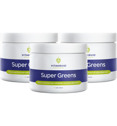 Super greens trio