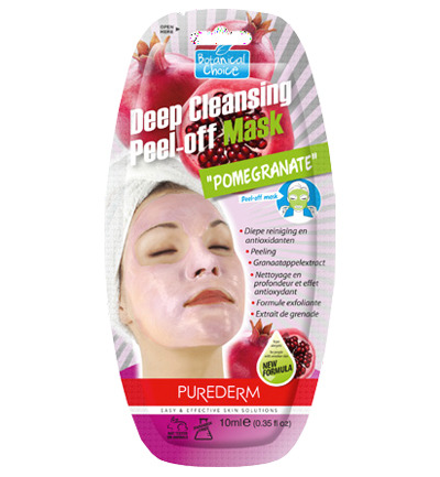 Deep Cleansing Peel-off Mask Pomegranate