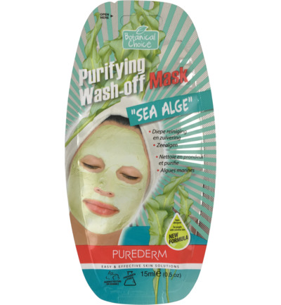 Purifying Wash-off Mask Sea Alge