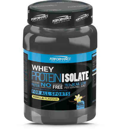 Whey Protein Isolate Vanille