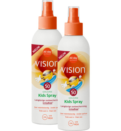 Kids SPF 50 spray Duo
