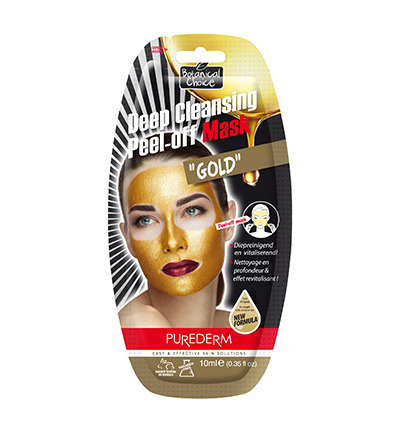 Deep Cleansing Peel-off Mask gold