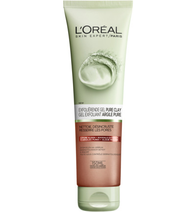 Exfolierende Gel Pure Clay Foam