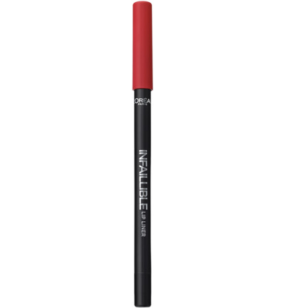 Infallible Longwear Lip Liner - 105 Red Fiction - Lippotlood