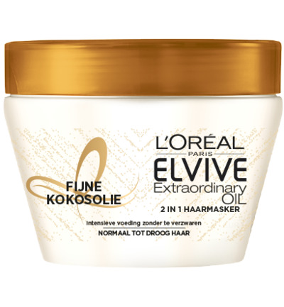 Extraordinary Oil - Fijne Kokosolie - 2-in-1 Haarmasker