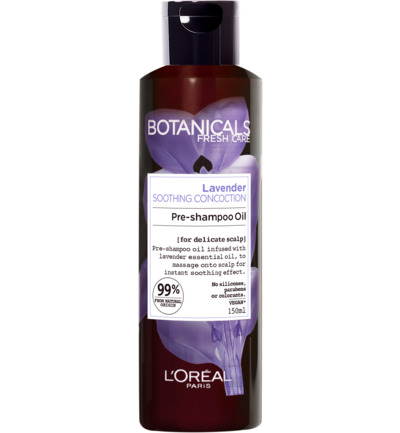 Botanicals Lavender Soothing Concoction - 150ml - Pre-Shampoo Oil