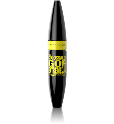 Volum'Express Colossal Go Extreme! Leather Black - Zwart - Mascara