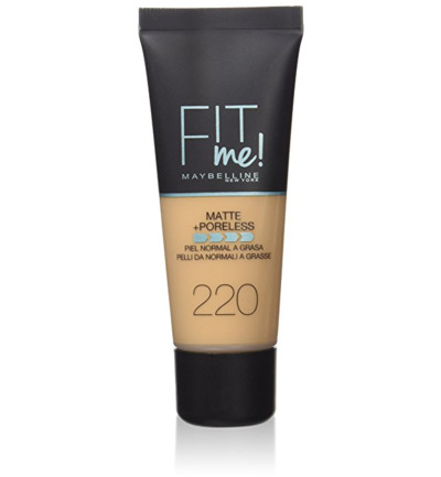 Fit Me Matte + Poreless - 220 Natural Beige - Foundation
