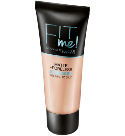 Fit Me foundation Matte & Poreless- 250 Sun Beige - Foundation