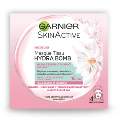Skin Active mask hydra bomb