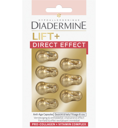 Lift+ Direct Effect Capsules 7 stuks