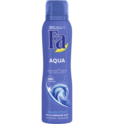 Aqua 48u Deodorant Spray 150 ml