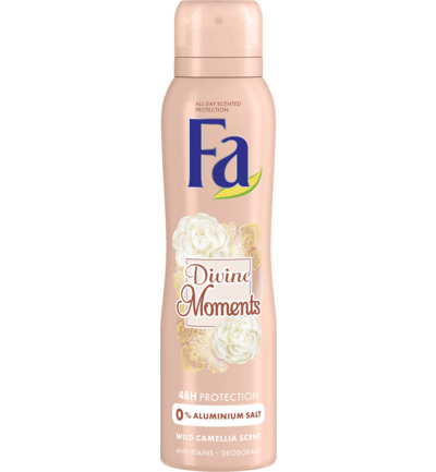 Divine Moments 48u Deodorant Spray 150 ml