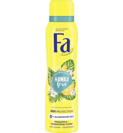 Hawaii Love Deodorant Spray 150 ml