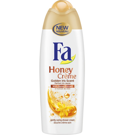 Honey Creme Douchegel 250 ml