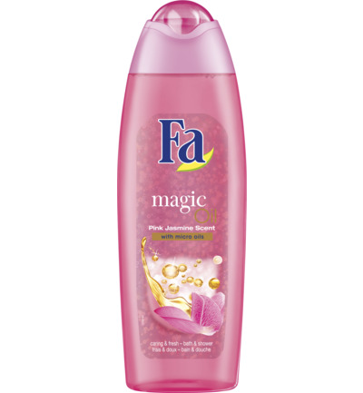 Magic Oil Pink Jasmine Bad & Douchgel