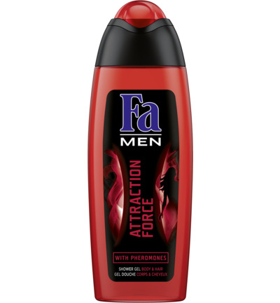 Men Attraction Force Douchegel & Shampoo