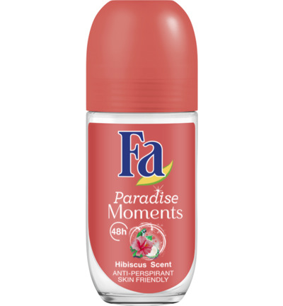 Paradise Moments 48u Deodorant Roll On 50 ml