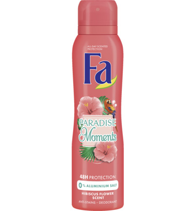 Paradise Moments 48u Deodorant Spray 150 ml