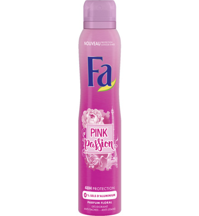 Pink Passion Deodorant Spray 200 ml