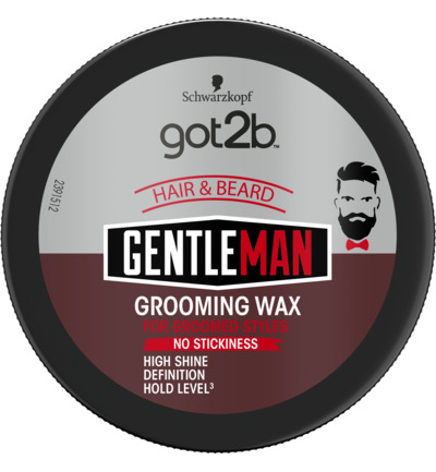 Gentleman grooming wax