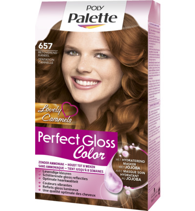 Perfect Gloss 657 Betoverend Kaneel Niet-Permanente Haarverf