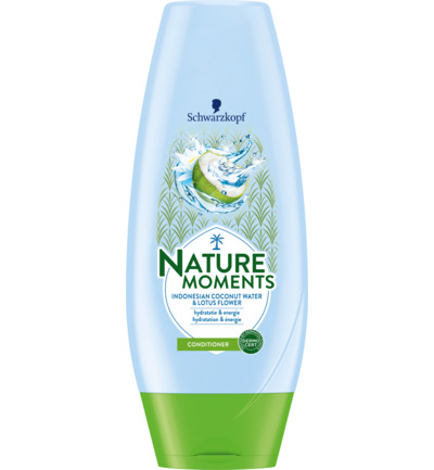 Nature Moments Indonesian Coconut Water & Lotus Flower Conditioner 200 ml