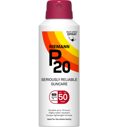 Continuous spray SPF50