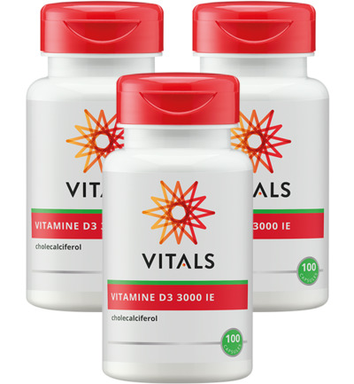 Vitamine D3 3000IE Trio