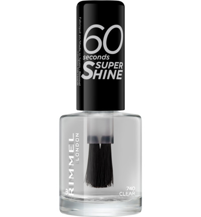 60sec Supershine nagellak : 740 - Clear
