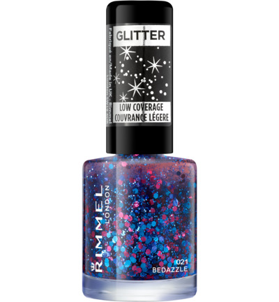 Glitter Bomb Special Effect Nail Colour nagellak : 021 - Bedazzle
