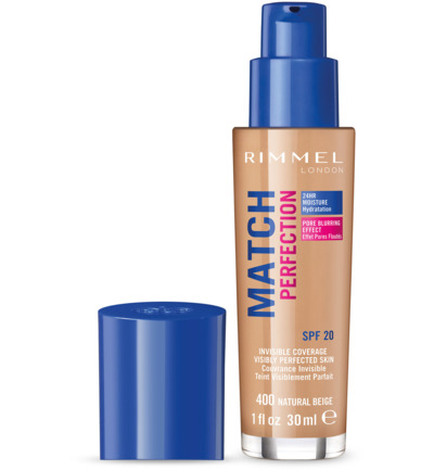 Match Perfection foundation : 400 - Natural Beige