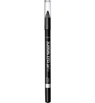 Scandal'Eyes Waterproof Kohl Pencil : 001 - Black