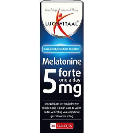 Melatonine forte one a day 5 mg