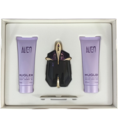 Thierry Mugler Alien EdP 30ml + GRATIS Bodylotion 50ml & Showergel Geurset 1 st