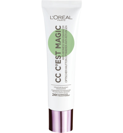 CC C'est Magic anti-roodheidscrème CC Cream (vh Glam Nude)