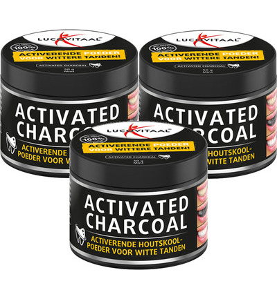 Activated Charcoal trio