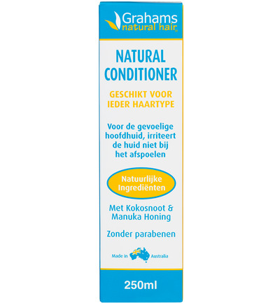 Grahams Conditioner Met Manuka Honing 250ml