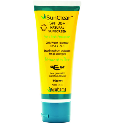 SunClear SPF 30 Natural Sunscreen