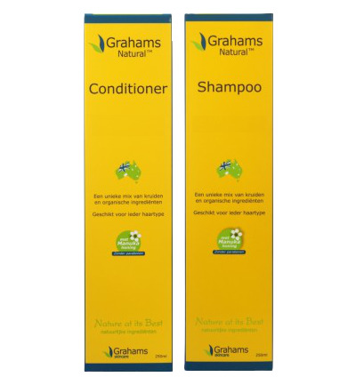Combi Natural Shampoo + Natural Conditioner