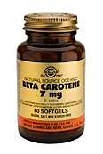 B̬ta-Carotene 7 mg softgels