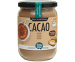 Raw cacao antioxidant poeder in glas