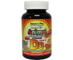 Animal parade vitamine D3 kauwtablet