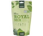 Royal mix raw grass vegetables algae