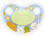 Fopspeen happiness glow in the dark 0-6 maanden