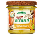 Farm vegetables pompoen & gember