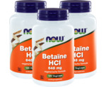 Betaine HCL 648mg trio